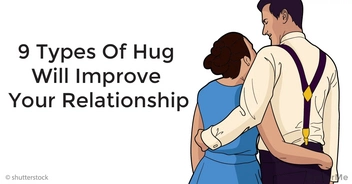 These 9 types of hug will improve your relationship