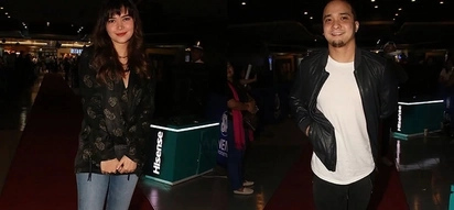 Nag-krus ang landas! Exes Bela Padilla and Neil Arce bump into each other at the Julian-Ella movie premiere and the awkwardness between them shows!