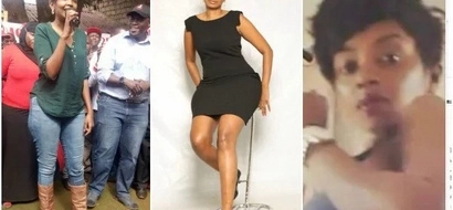 Nairobi Woman Rep aspirant speaks for the first time after SUGGESTIVE photos of her emerged