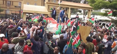 Business at near-standstill in Nairobi, Nyeri and Eldoret as Jubilee supporters celebrate Uhuru's Supreme Court win