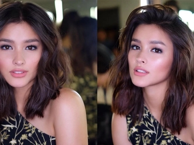 Fresh and fab. Liza Soberano's dazzling do is the ultimate summer hair goal!