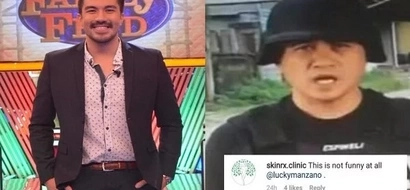 Netizens are still angry about Luis Manzano's post about Jun Veneracion and here's how he handled them