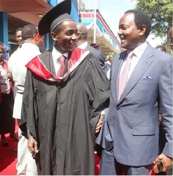 the unknown things about Kenya's top politicians' sons