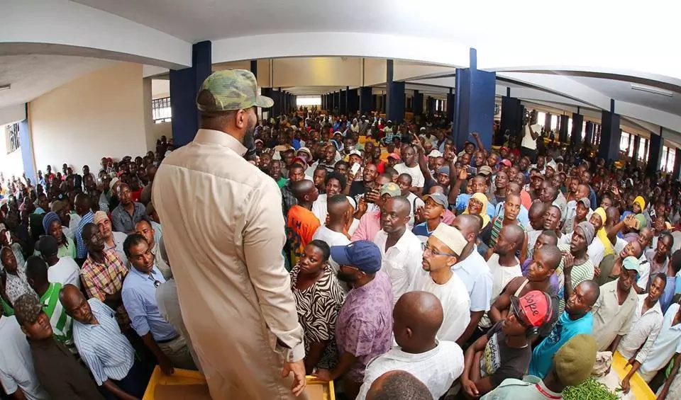 Uhuru plans to open market opened by Joho