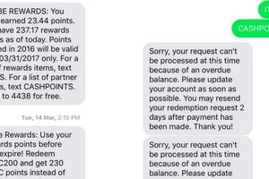 Furious netizen rants about disappointing experience with her network service provider after unsuccessful reward redemption