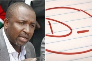 Vocal Jubilee MP on the spot for allegedly joining law school after scoring a D MINUS