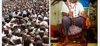 Kenyan herbalist reveals things politicians wear to win elections