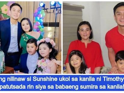 Sunshine Dizon, isiniwalat na ang tunay na estado ng relasyon nila ni Timothy Tan
