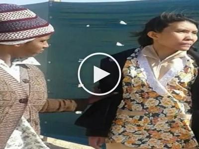 Shocking videos of depressed Filipina helper going insane in Kuwait go viral