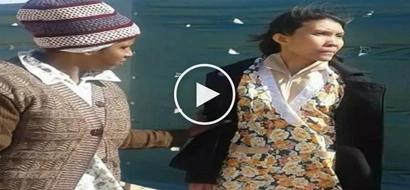 Heartbreaking videos of depressed Filipina helper going insane in Kuwait go viral