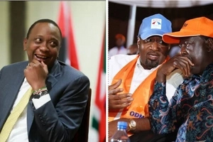 LIST: The people Uhuru is counting on to beat Raila on August 8