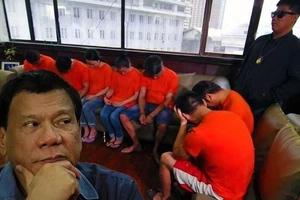 LOOK: Alleged drug users surrender before Duterte took oath