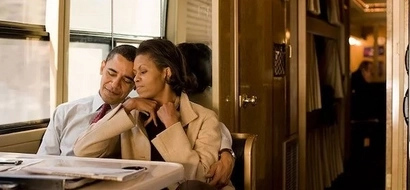14 intimate photos of President Obama and Michelle that will make you feel weak in the knees