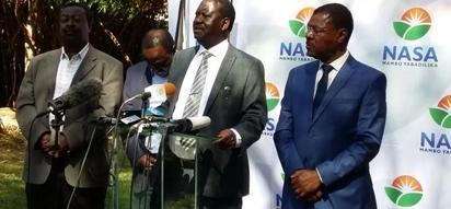 Kuapishwa kwa Raila bila kuwepo vigogo wengine ilikuwa 'njama' ya NASA, Habari kamili
