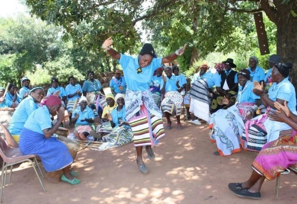 See grannies who dance and play football to stay healthy and happy (photos)