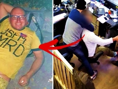 This poor European man was found by a netizen sleeping on the sidewalk. What his Pinay girlfriend and a criminal did to him will break your heart!