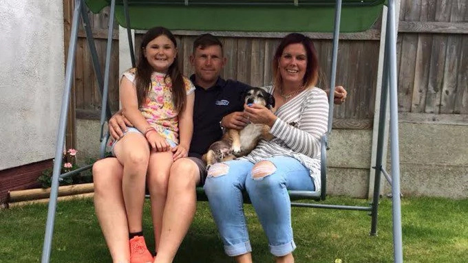 WATCH Family reunited with missing pet after nine years