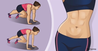 8 exercises anyone can do at home to get rid of the belly pouch