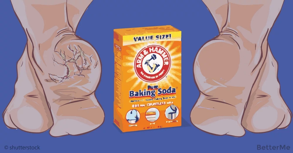This baking soda mixture can help you clean feet