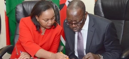 List: Names of Anne Waiguru's team of 10 people implicated KSh 791m NYS scandal