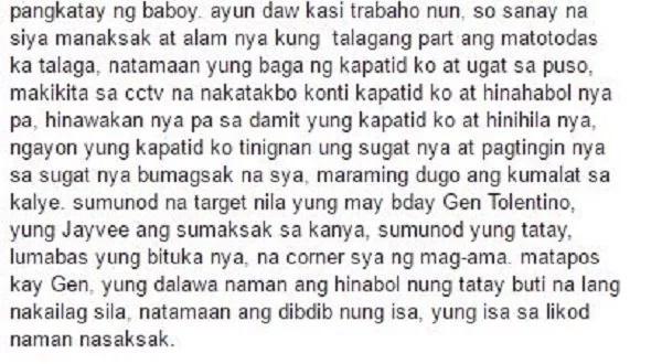 Netizen recalls brother's murder in violent Manila stabbing incident