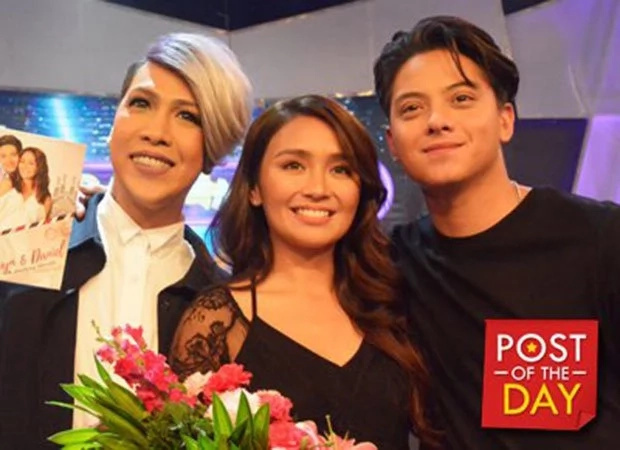 Vice receives designer bag and shoes from Kathniel's Rome trip