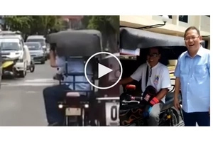 """WATCH: Marikina Mayor offers his car to locals. Netizen praises him as the """"Coolest Mayor Ever!"""""""