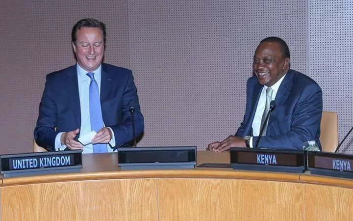 Uhuru Kenyatta photos with 12 global leaders including Pope