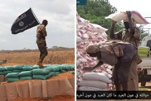 Concern as al-Shabaab militants supply food to residents (photos)