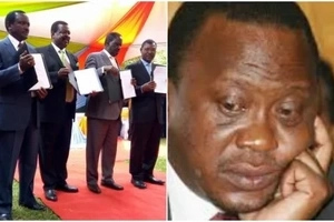 Uhuru and Ruto to be included in NASA's government for a very odd reason