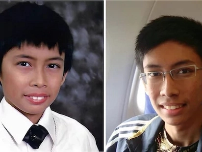 You will not believe that this boy has transformed to a handsome man now! Check out the pictures