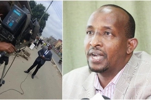 KTN Journalist exposes Duale