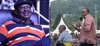 Video of demos and burning of Jubilee merchandise in Kisii during Uhuru tour