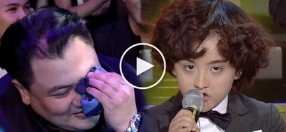 Niño Muhlach cries on YFSF Kids, overwhelmed by son's outstanding Harry Style's impersonation