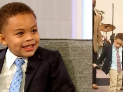 This 4-Year Old Boy Takes The Microphone. What He Did Next Got Everyone Astonished!