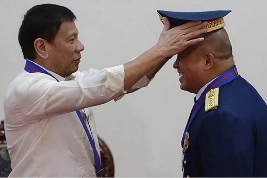 PNP Chief Dela Rosa cries over son's letter