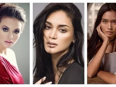 Extremely impressive Filipina Beauty Queens on New York Fashion Show. Stunning top 3!