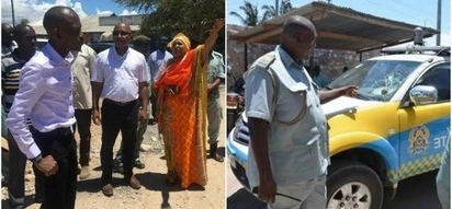 Mishi Mboko and Mombasa Deputy governor attacked by youths in Likoni