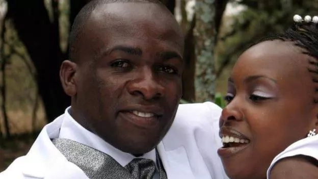 Naomi Wangui and Malaki Samson. Photo: BBC
