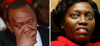 IMEFICHUKA: Kizaazaa kilichotokea baina ya Karua na Uhuru Kirinyaga!