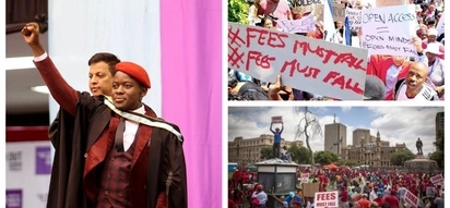 Fees Must Fall activist Bonginkosi Khanyile graduates a day after being suspended