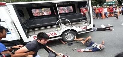 Anti-American rally outside US Embassy Manila turns savage