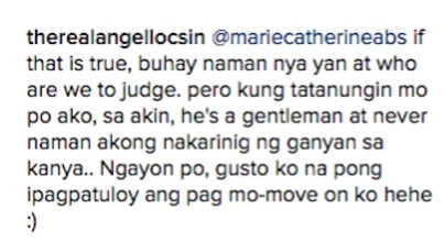 Angel Locsin gives her piece on the Keanna Reeves-Luis Manzano sex issue
