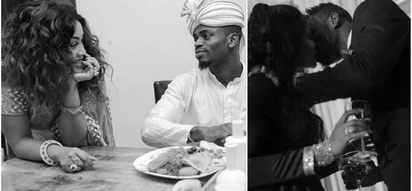 Recent photos of Diamond Platnumz and Zari Hassan at a relative's wedding confirm they are back together
