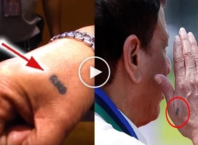 Duterte's tattoo could be the key in understanding his pro-Marcos stance