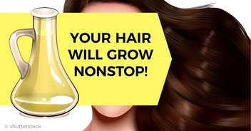 Just apply this on your hair to make them grow faster