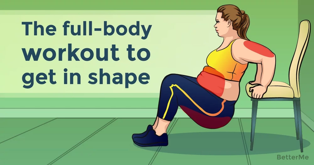 The full-body workout routine that can help you get in shape