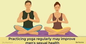 Practicing yoga regularly may improve men's sexual health