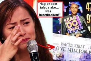 Watch Cristine Reyes reveal her true feelings when she lost to Wacky Kiray on 'I Can Do That' finale: 'I was heartbroken!'