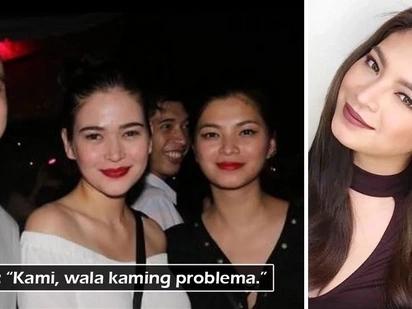 Wag nang gumawa ng isyu! Angel Locsin dismisses rumors of any rift between her and Neil Arce's ex Bela Padilla